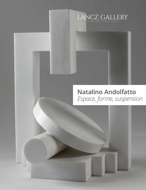 Natalino Andolfatto - Catalogues d'expositions